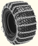 2 Link Tire Chain For Tire Size 410x350x4 Deep Lug