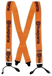 Husqvarna Suspenders / Button- Orange # 605001054