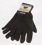 Cordova Gloves  Cotton Jersey w/ dots Knit Wrist # F15101