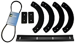 Paddle, Scraper Bar & Belt Kit replaces MTD 753-04472, 735-04032, 735-04033, 731-1033, 954-0367