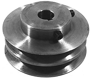 "Cast Iron Jackshaft Pulley - 48"" Cut For Bobcat 38183"