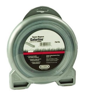 "Oregon Magnum Gatorline Square Trimmer line .080"" Gauge 1 Lb Dount Package Footage 327'"