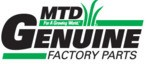 MTD Genuine Part # 777D10737 LABEL-MOWER SHROUD